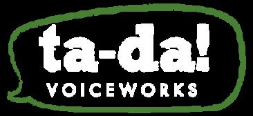 Tanya Buchanan Voiceworks Branding Logo